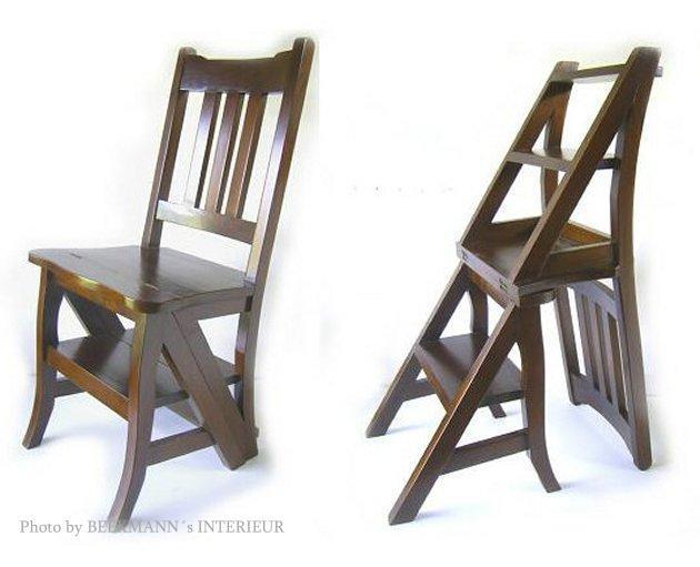 Trittleiter Holz leiterstuhl