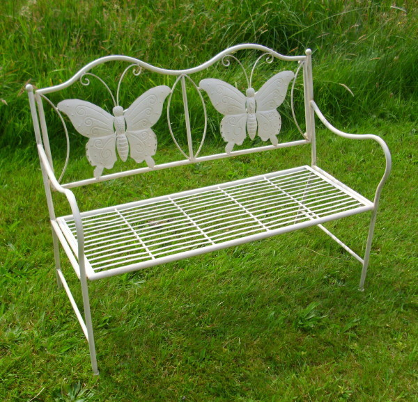 mini gartenbank butterfly beekmann s interieur accessoires. Black Bedroom Furniture Sets. Home Design Ideas