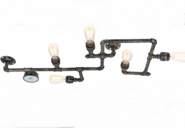 industrie stil deckenlampe wandlampe beekmann s interieur accessoires. Black Bedroom Furniture Sets. Home Design Ideas