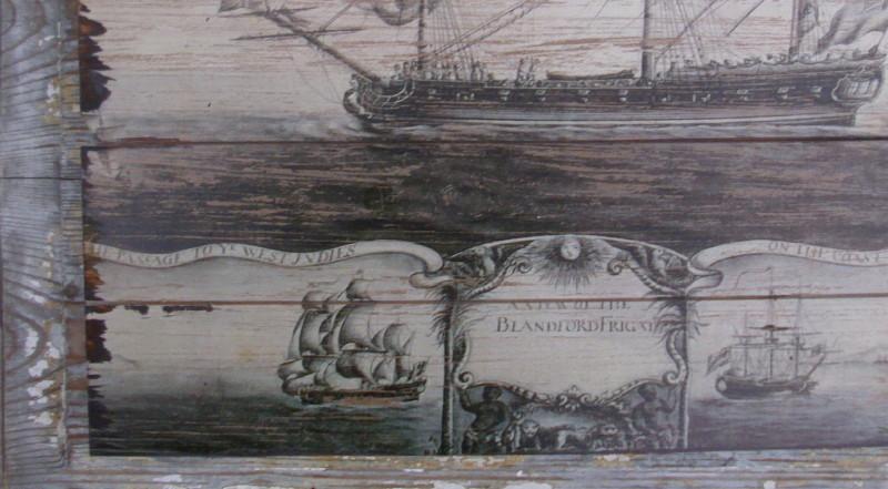 Holz wanddeko segelschiff beekmann s interieur accessoires - Maritime gartendeko ...