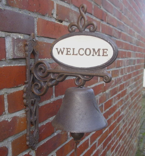 Glocke / Türglocke WELCOME