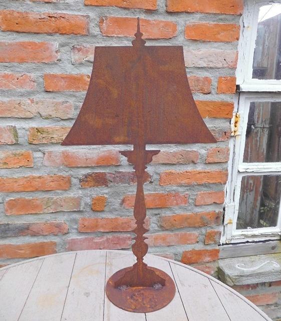 Rost lampe gr beekmann s interieur accessoires for Gartenaccessoires aus rost