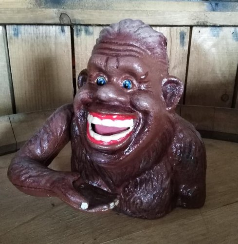 Vintage / Retro Spardose SASQUATCH Bigfoot