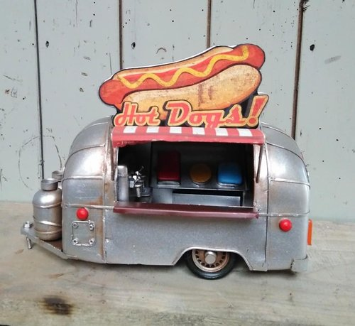 Modell HOT DOG Wagen / Airstream